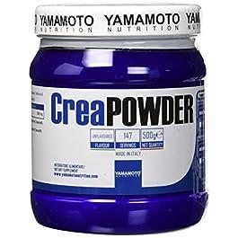 Yamamoto Nutrition CreaPowder Integratore Alimentare a Base di Creatina – 500 g