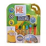 Anker Despicable Me Minions Stempel & Stencil Set-, Schablonen, Roller Briefmarken, Filz Spitze Stifte, Tinte Pad Viel Spaß