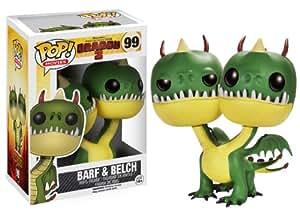 Funko - Bobugt094 - Figurine Cinéma - Dragons - Bobble Head Pop 99 Dragon Barf & Belch