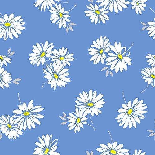 Mikrofaser-Handtuch 140 x 70 cm, in vier attraktiven Blumendesigns., White Daisy - Mikrofaser-daisy
