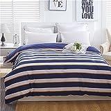 Die besten Gemütliche Bettwäsche Tröster Sets - Einfache Gemütlich Baumwolle Bettbezug, Hautfreundlich Tröster cover gedruckt Bewertungen