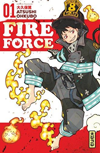 Couverture du livre Fire Force - Tome 1
