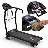 TAPIS ELECTRIC ROLLER FOLDING BLUETOOTH APP I FITSHOW CARDIAC CARDIUM SENSOR 1500 W /...
