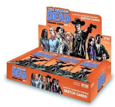 Walking Dead Season 2 Comic Trading Card Box