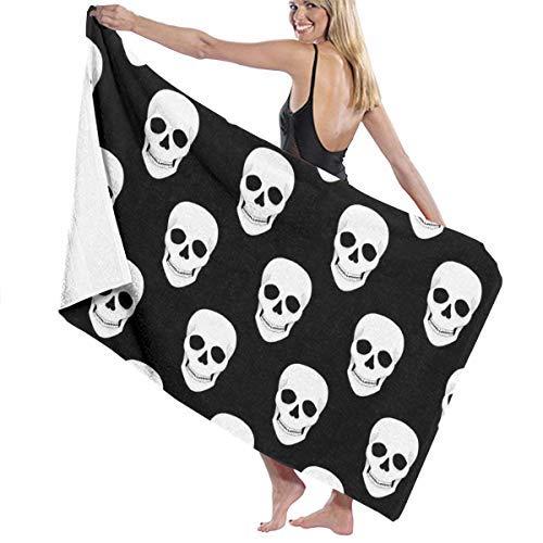 xcvgcxcvasda Badetuch, Soft, Quick Dry, Halloween Holiday Skull Hotel & Spa Badetuch, Soft, Quick Dry, 100% Polyester, 32