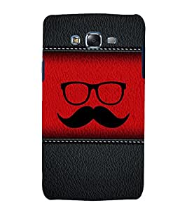 printtech Leather Pattern Funky Back Case Cover for Samsung Galaxy J2 / Samsung Galaxy J2 J200F