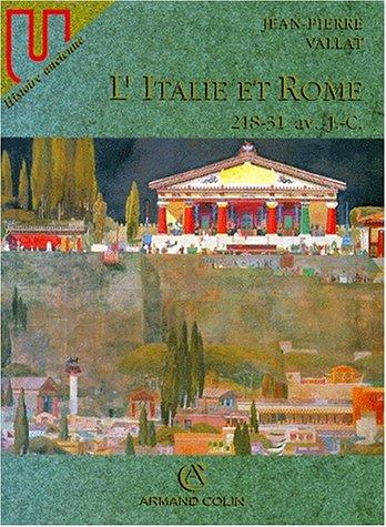 L'ITALIE ET ROME. : 218-31 av. J.C.