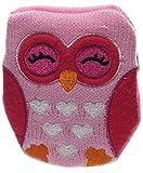 Puckator Mini Handwärmer Eulen mit Strickbezug, Farbe:pink