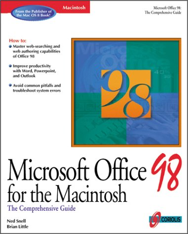 Microsoft Office 98 for Macintosh: The Comprehensive Guide -