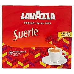 Idea Regalo - Lavazza Caffè Macinato Suerte - 10 Confezioni da 250 gr [2.5 Kg]