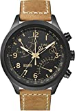 Best Chronograph Watches - Timex Men's T2N700 Intelligent Quartz Watch with Black Review