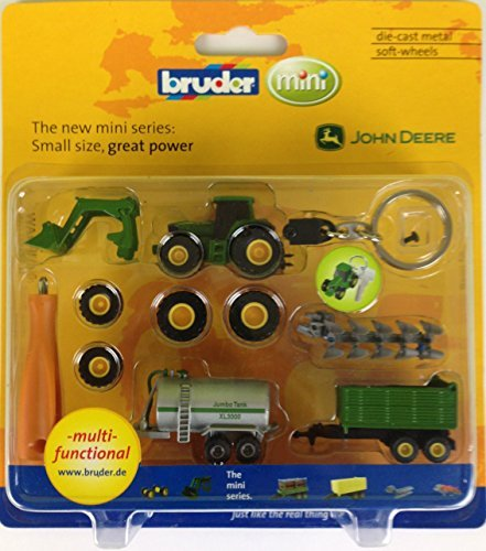 Bruder Spielwaren 00412 Schlüsselanhänger John Deere 6920 Zubehör
