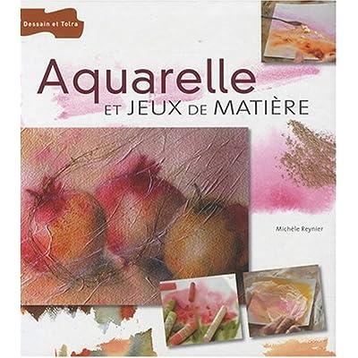 Aquarelle et jeux de matière