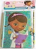 Disney Junior Doc McStuffins Secret ordinateur portable bloc-notes Agenda avec verrou et crayon