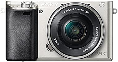Sony ILCE6000LS Compact System Camera with SELP1650 Lens Kit (Fast Auto Focus, 24.3 MP, Electronic View Finder, Wi-Fi and NFC) - Silver