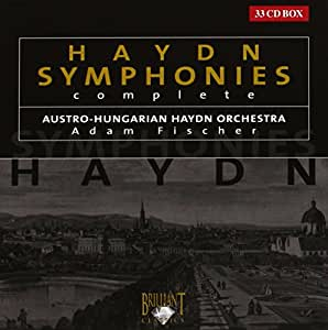 Haydn:Complete Symphonies [Import allemand]
