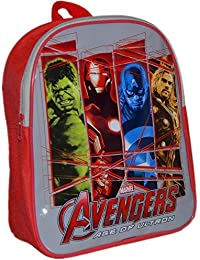 c58021e2d06 MARVEL® Avengers Official Kids Children School Travel Rucksack Backpack Bag  - Incredible Hulk, Iron Man,…