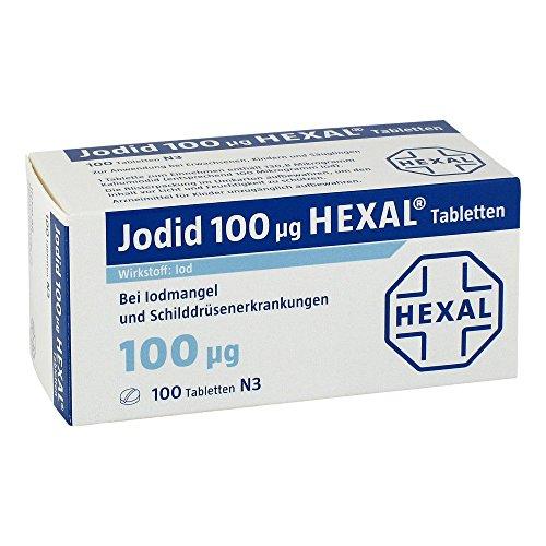Jodid 100 Hexal Tabletten, 100 St. (100 Tabletten)