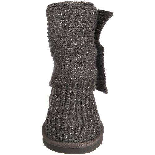 UGG W's Cozy Knit 1865, Stivali, Donna Grigio