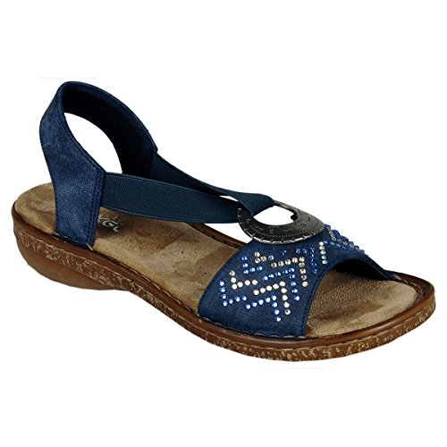 Sandales 62802-14 Rieker Atlantis Bleu
