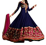 Krishna Presents All New Design Of Blue Color Suit With Dupatta. (Dress Mater...