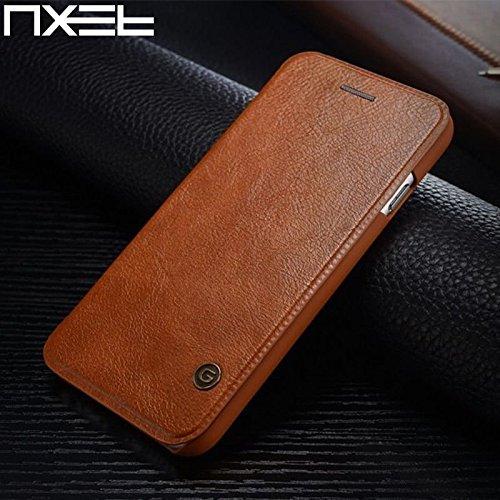 Nxet® G-Case Luxe Cuir Flip Cover wallet Card Coque pour iPhone 5/5S/SE/6/6S/Plus, marron, iPhone 6S/6 4.7