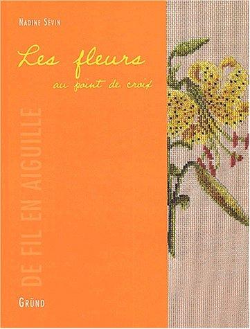 Les fleurs au point de croix