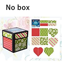 BlackEdragon Tetrahedron Explosion Box With Theme Sticker Confession Birthday Surprise Gift Box Sticker