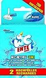 WC-Ente Active 3 in 1 Nachfüller Marine, 2 Stück, 80 g