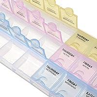 Klein Weekly Pille Veranstalter 7Tage 21Slot Weekly Pill Box Medizin Tablet Halter Spender Halter Storage preisvergleich bei billige-tabletten.eu