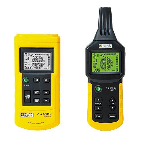 Chauvin Arnoux C.A 6681, Erdkabeldetektor mit LCD-Anzeige, Erfassungstiefe 2.5m, bis 600V, CAT III 300 V