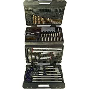 Silverline 868762 Mallette de 204 accessoires perceuse assortis 204 pcs
