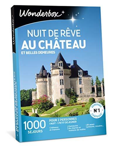 Wonderbox - Coffret cadeau NOEL - NUIT DE RÊVE AU CHÂTEAU ET BELLES DEMEURES - 1000...