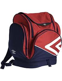 Umbro Pro Training Italia Backpack - Mochila para hombres, color rojo / dark navy / blanco, talla L
