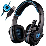 SADES SA901 7.1 Surround Sound Stereo Professionelle PC USB Gaming