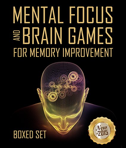 Mental Focus and Brain Games For Memory Improvement: 3 Books In 1 Boxed Set (English Edition) (Ds Brain Challenge)
