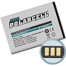 Polar cell batteria per Samsung Galaxy Pocket, Galaxy y, Wave Y (1400 mAh/5,2 wh) EB454357VU
