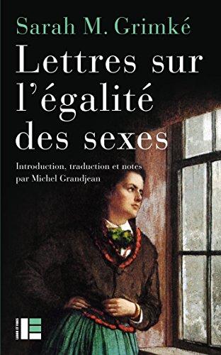 Lettres sur légalité des sexes