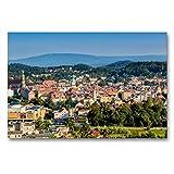 Calvendo Vista de la Torre del Emperador en Hirschberg y el Entorno, 90x60 cm
