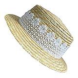 Skyeye Sombrero de Sol para Niñas Sombrero de sol Sombrero de Playa Sombrero de Verano Protección...