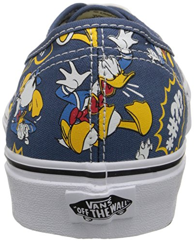 U Disney Donald Navy Adulte Basses Baskets Mixte Multicolore OPN8wnX0k