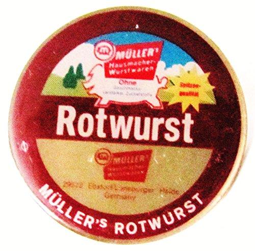 Müller´s Hausmacher Wurstwaren - Rotwurst - Pin 29 mm