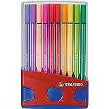 STABILO Pen 68 Color Parade Pennarelli colori assortiti - Scatola da 20
