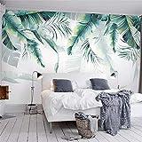 Worryd Hd Print Poster Picture Fototapete Moderne 3D Banane Blätter Malerei Wandbilder Wohnzimmer Schlafzimmer Rest, 150x105 cm (59,1 von 41,3 in)