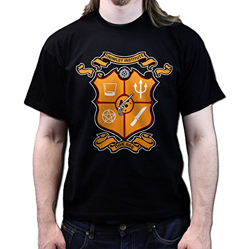 Crowley Institute Fraternity Super Natural T-shirt Schwarz