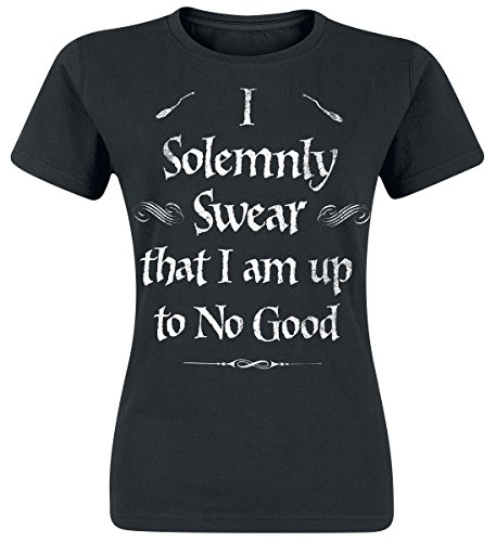 Harry Potter Solemnly Swear Girls Shirt Black