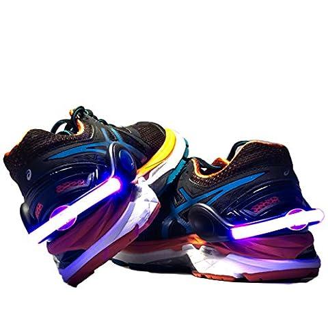 megaversal® + + + Premium Chaussures Clip + + + LED Rechargeable + + + Model 2017+ + + avec Câble USB + + + jusqu'à 40heures de durée d'éclairage + + + 500mètres de vision + + + Imperméable + + + marque de qualité bleu