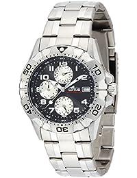 Lotus Reloj Cronógrafo para Hombre de Cuarzo con Correa en Acero Inoxidable  15301 9 c2d4bbaa34b2