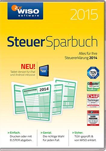 WISO Steuer-Sparbuch 2015 (für Steuerjahr 2014 / Frustfreie Verpackung) hier kaufen