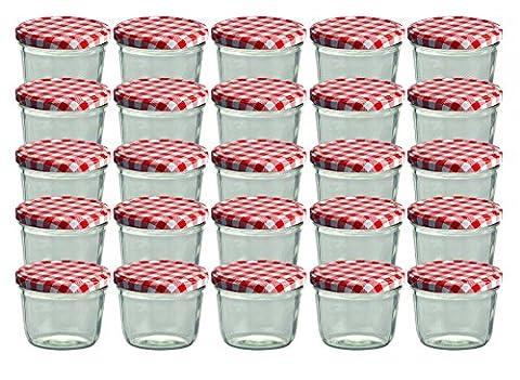 Cap+CroTo 82 Lot de 25 bocaux en verre pour conservation